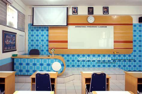 interior desain ruang kelas  cantik