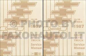 1987 Chevy  Gmc P Forward Control Wiring Diagram Motorhome And Stepvan P20 P30 P2500 P3500