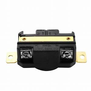 Ac 3 Pole 4 Wire 60hz 30a 125  250v Male And Female Locking