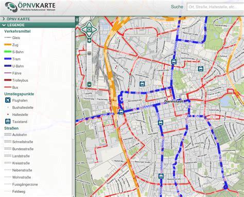 Darmstadt Und Umgebung by Topographische Karte Darmstadt My