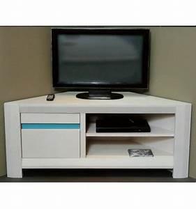 Meubles Tv D Angle : meuble tv hifi d 39 angle 1 porte murano girardeau ~ Melissatoandfro.com Idées de Décoration