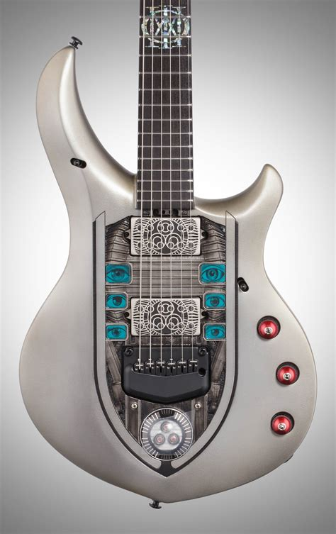 Review of the music man john petrucci jp15 guitar and artisan majesty guitars read the full review here Ernie Ball Music Man Petrucci Majesty Nomac Electric Guitar