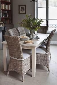 Chaise Rotin Gris : chaise en rotin am lie kooboo gris rallonges josephine et chaises ~ Teatrodelosmanantiales.com Idées de Décoration