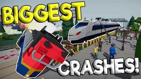 Creating The Biggest Train Crash!