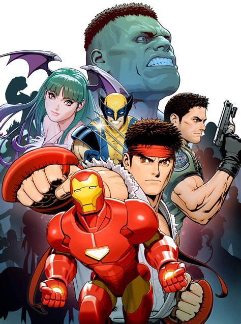 Marvel Vs Capcom 3 Official Artworks