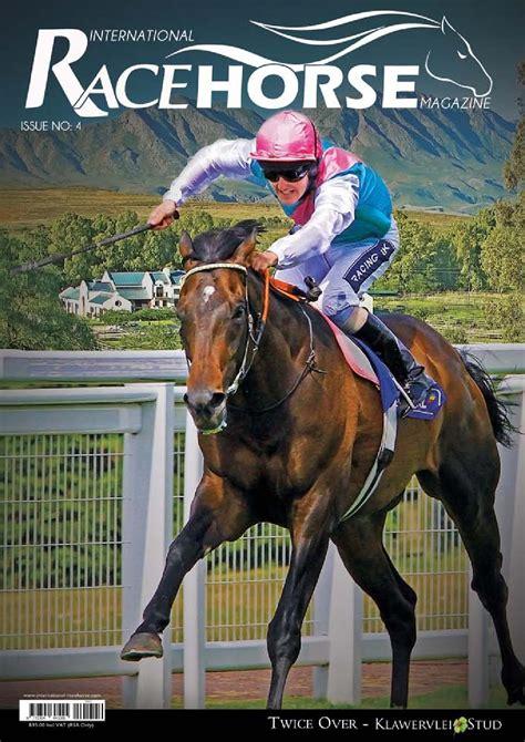 horse race magazine racehorse close international
