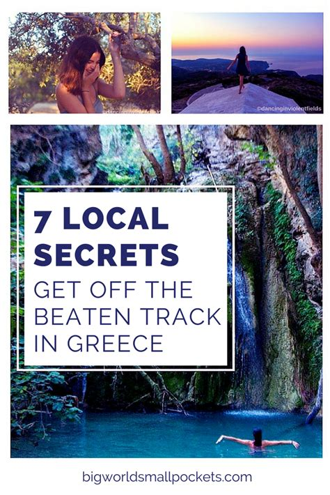 the beaten track in 7 local secrets to getting the beaten track in greece