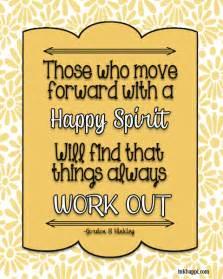 Happy Spirit Quotes