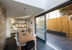 maison contemporaine salle a manger avec une baie vitree With salle de bain design avec école de décoration d intérieur toulouse