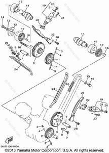Yamaha Motorcycle 2002 Oem Parts Diagram For Camshaft