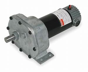 Dayton Parallel Shaft Dc Gearmotor