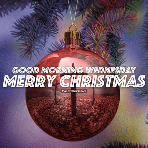 good morning wednesday merry christmas pictures