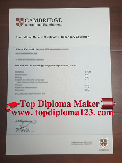 cambridge gcse fake certificate buy fake general