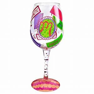 lolita m love my lettertm wine glass lolitar designs With glasses with letters on them