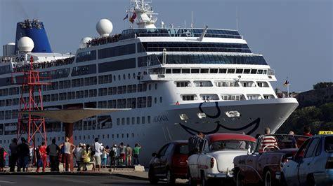 เรือสำราญสหรัฐฯ เทียบท่าที่คิวบาครั้งแรกในรอบครึ่งศตวรรษ