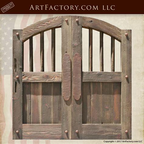west saloon doors custom handmade  solid wood