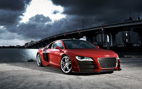 Audi R8 Tuned Wallpaper