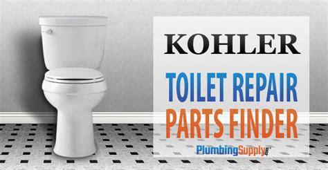 kohler toilet identification pictures  repair parts