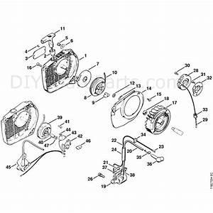 Stihl 028 Chainsaw  028  Parts Diagram  Starter  Ignition