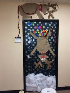 christmas door decoration christmas pinterest