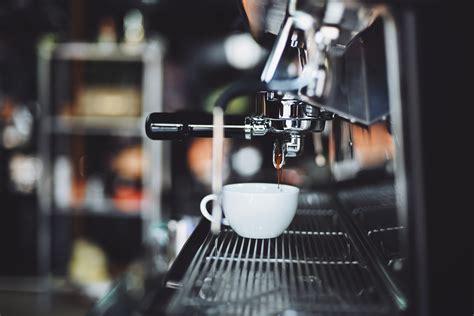 selective focus photography  espresso machine