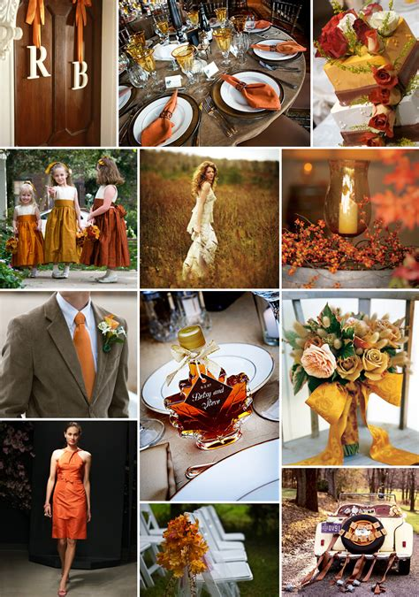 Inspiration Board A Fall Wedding Pixel And Ink