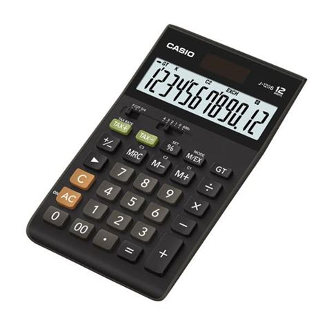 Casio Desk Calculator by Genuine Casio J 120b Compact Desk Type Calculator 12