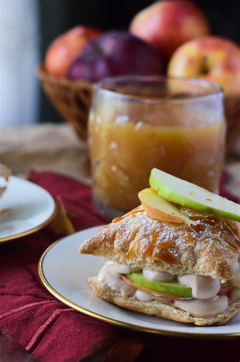 Caramel Apple Napoleons • The Crumby Kitchen