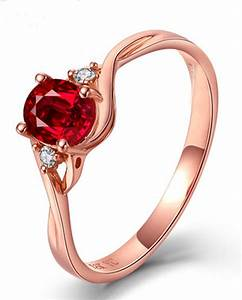Perfect 1 Carat Oval Red Ruby and Diamond Trilogy ...