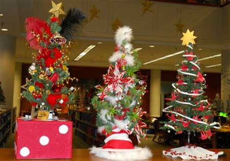 christmas tree decorating contest ideas want to make history decorate a tree for the west library s contest wesleyan