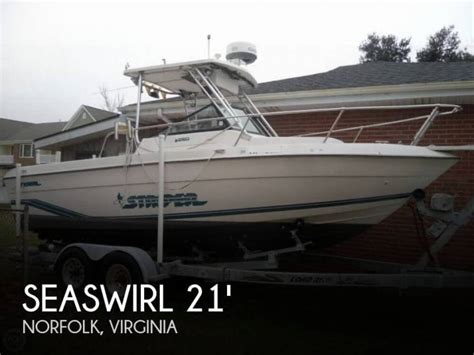 Used Striper Boats For Sale In Florida by Seaswirl 2150 Striper In Florida Day Fishing Boats Used