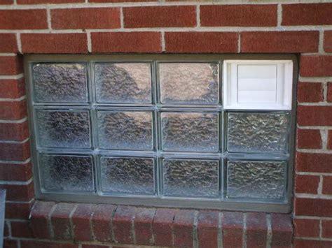 Doors & Windows  Glass Block Basement Windows How To