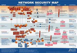 Free Download Network Security Map Poster Tools For Online Services Software