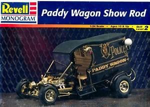 Scale Model Police Lights Paddy Wagon Show Rod 1 24 Fs