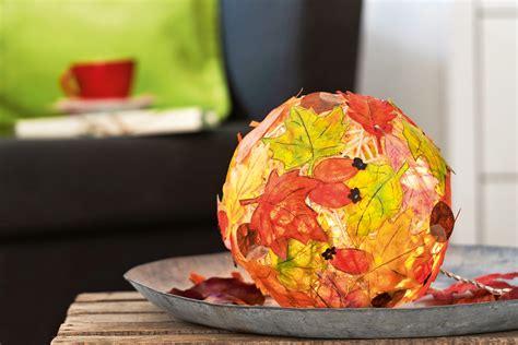 Herbst Deko Garten Selber Machen by Herbstdeko Selber Machen Bunter Herbstzauber Familie De