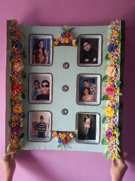photo frame making simple craft ideas