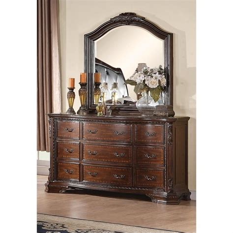 coaster maddison bedroom set coaster maddison dresser and mirror set in warm brown
