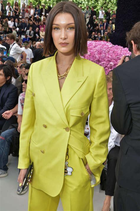 Bella Hadid  Dior Homme Show Ss 2019 At Paris Fashion Week