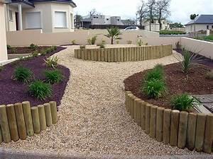 Rondin De Bois Pour Jardin : galerie photos am nagement paysagiste lamballe ~ Edinachiropracticcenter.com Idées de Décoration
