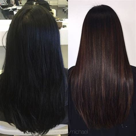 Different Shades Of Black Hair Color by Blue Black Hair Color Ideas Best Blue Highlights In Black