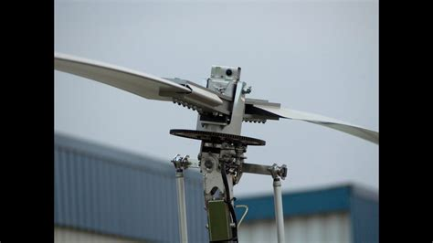 spinning gyrocopter rotor blade youtube