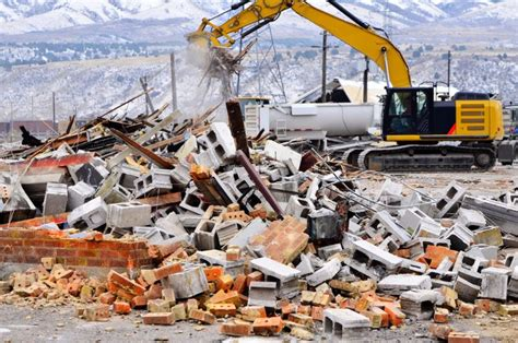 building demolition rubbish removal call  tipper