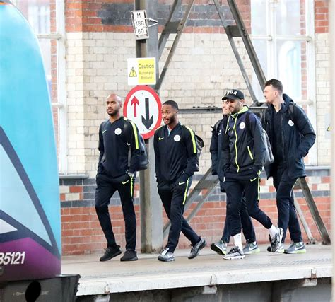 Man City squad travel to Leicester for Carabao Cup quarter ...