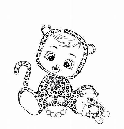 Cry Babies Coloring Colorear Lea Bebe Lloron