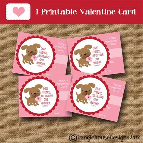 We did not find results for: Puppy Dog Valentine Card for Girls DIY PRINTABLE