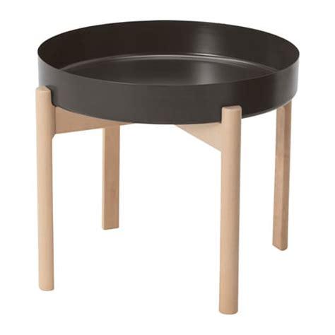 fjällbo coffee table ikea ypperlig coffee table dark grey birch 50 cm ikea