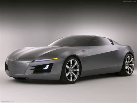 Acura Advanced Sports Car Concept Exotic Car Pictures #06