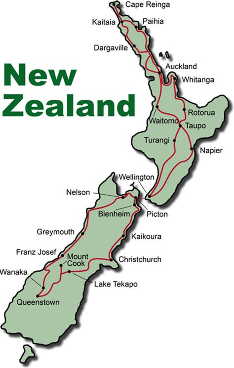 Paradise Lake, New Zealand