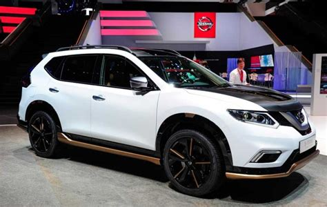 nissan  trail  release date price exterior