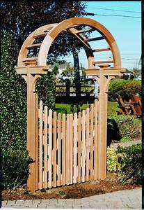why wood ?: Share Arbor gate plans